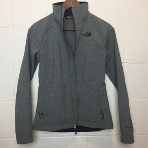 The North Face Women's Windwall Gray Jacket